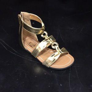 Sz 8 Gold Sandal